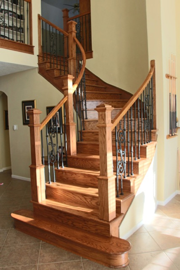 your finished stairs