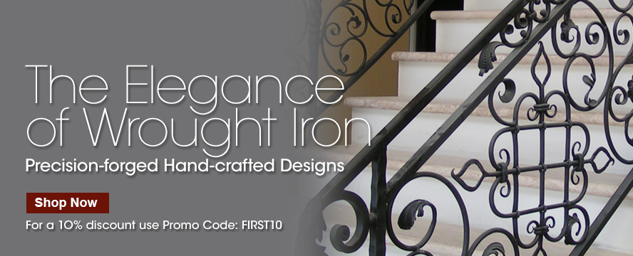 Shop our Decorative Wrought Iron.