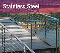 Learn more about our Stainless Steel Products