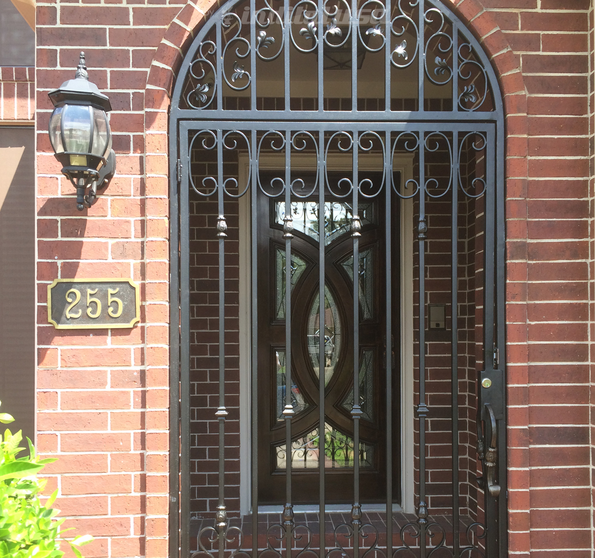 Wrought Iron Gate from Ferrum Gates