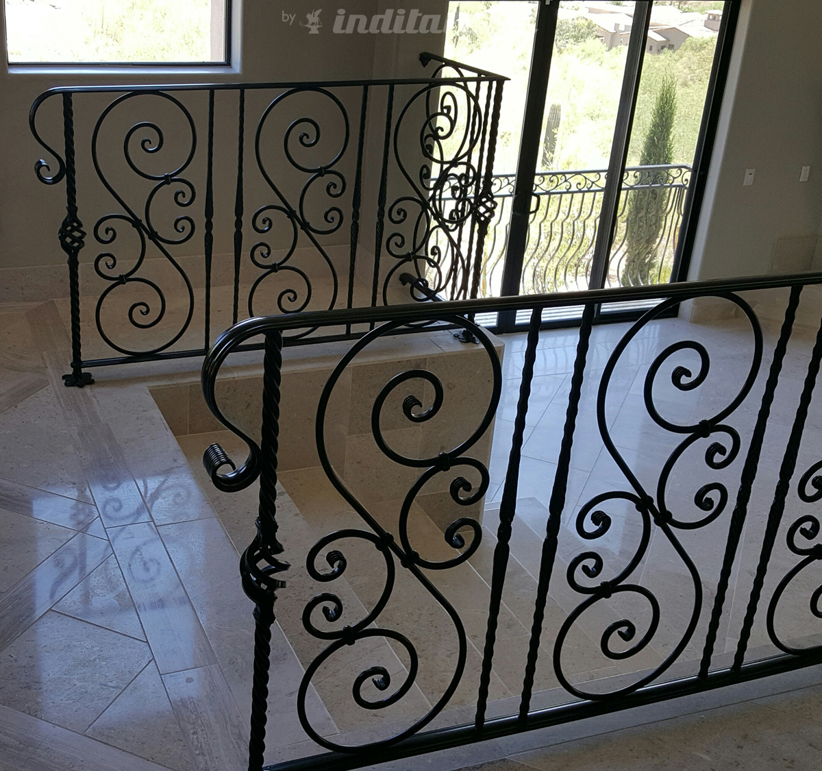Wrought Iron Railing from J C Fabrication LLC