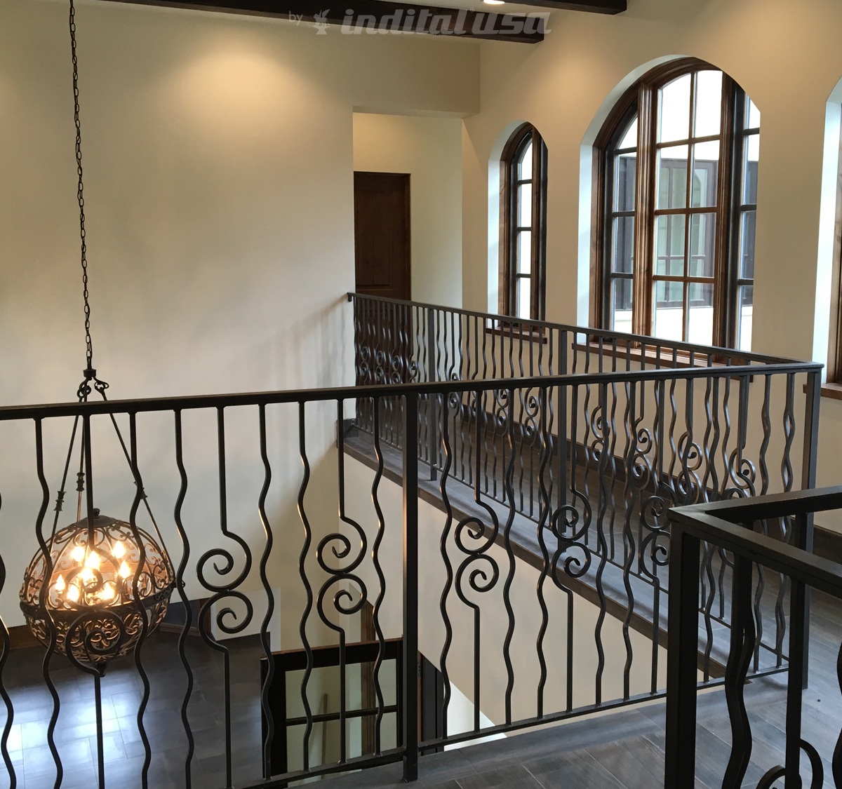 Wrought Iron Railing from Laurie C. Fisher Architect