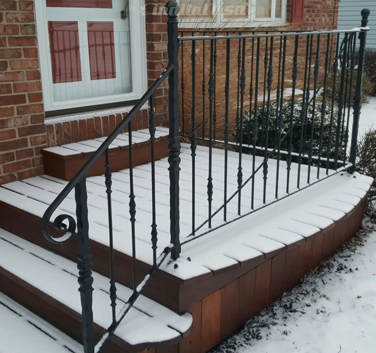 Wrought Iron Railing from Myron Heeb