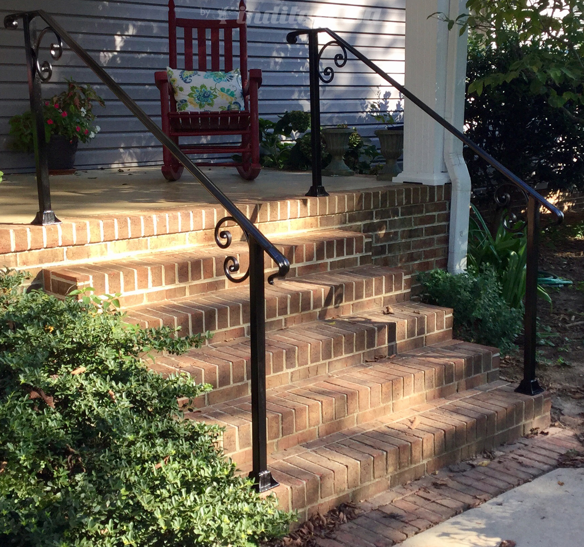Wrought Iron Railing from Dick Barnes