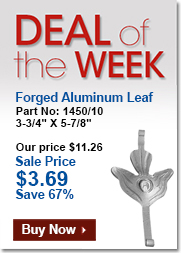 Weekly Special - Leaf Design in Metal