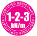 Resistance Certification for 1-2-3 kN/m