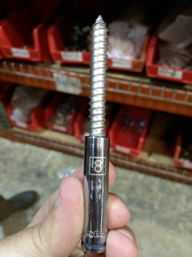 Wood screw terminal