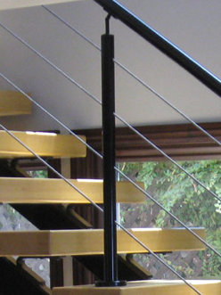 Cable Railing with Round Tube