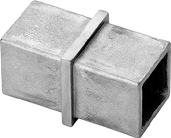 Indital 316 Stainless Steel Connector For Square Tube 1 9
