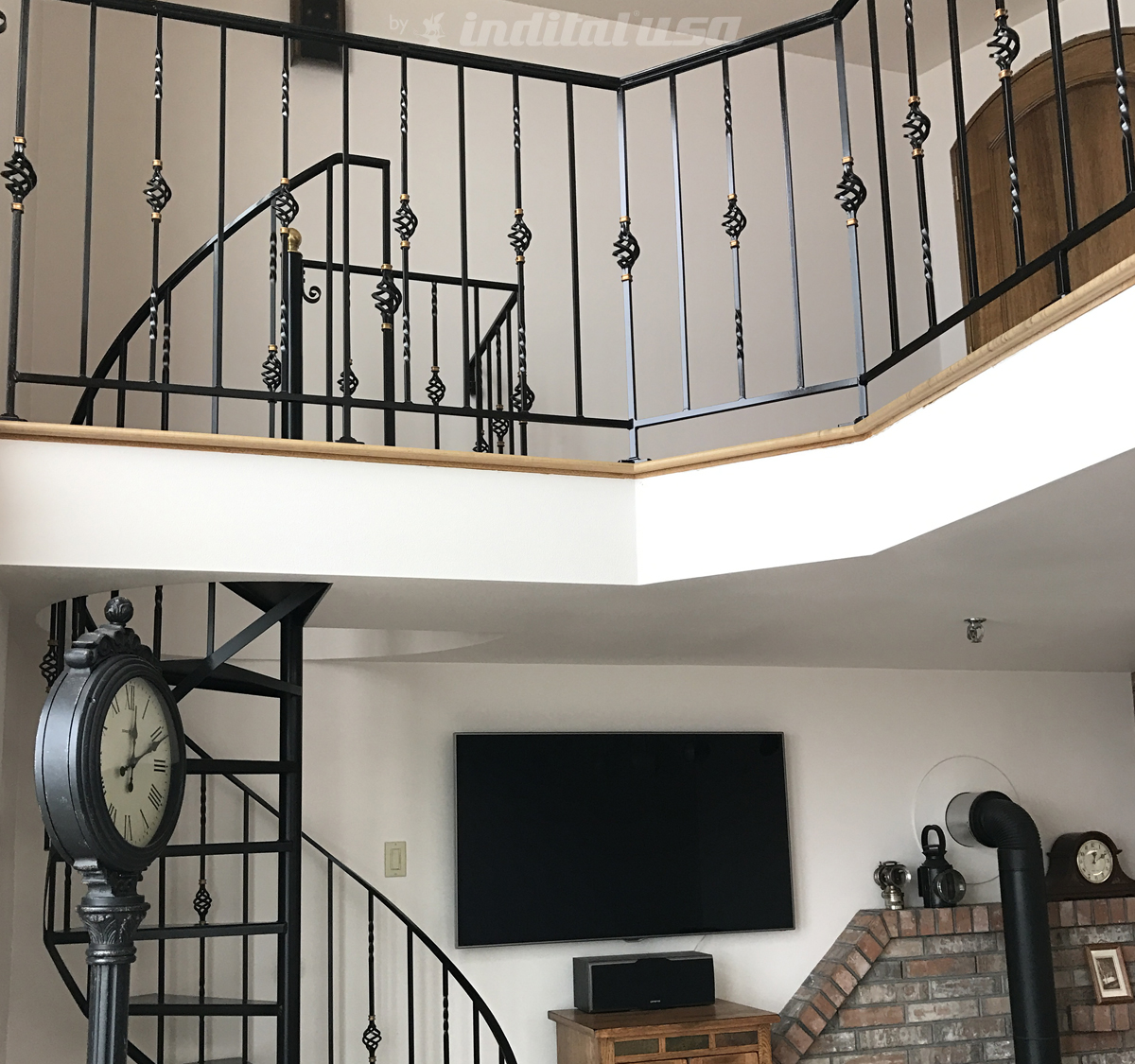 Wrought Iron Railing from Ladd Blakenship