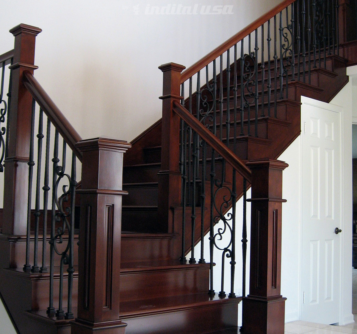 Indital Powder Coated Wrought Iron Balusters