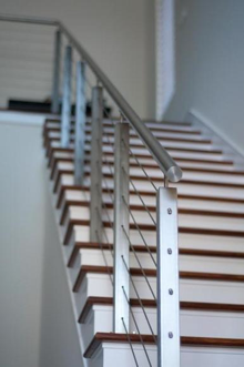 Cable Railing with Square Tube